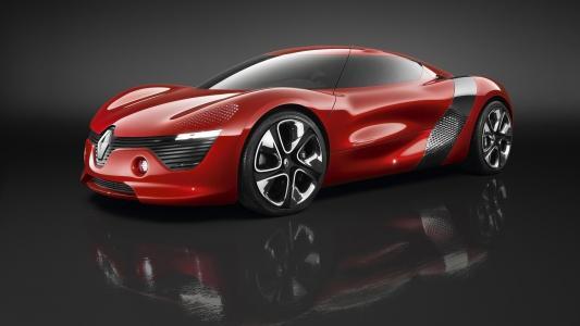 红色酷炫跑车