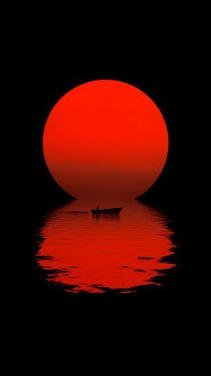 唯美夕阳落日美景