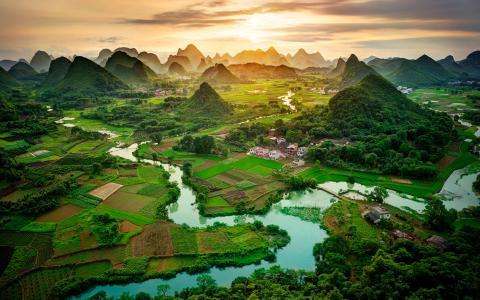 广西桂林唯美风景