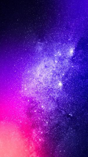 梦幻的璀璨星空