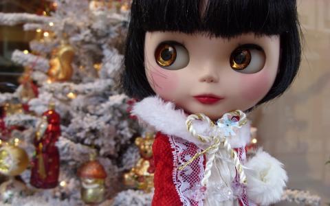 圣诞节娃娃