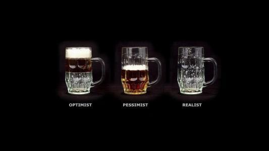乐观主义者,悲观主义者,熊的现实主义者