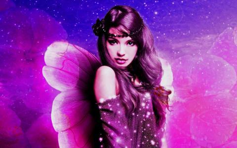 紫色的童话