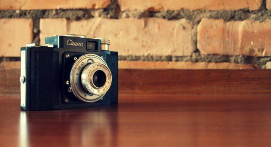 复古式照相机