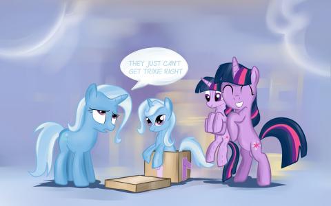 我的小马驹:友谊是魔术