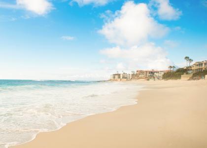 景色迷人的海边景色