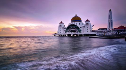 清真寺在海上