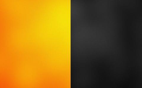 黄色和灰色的面板
