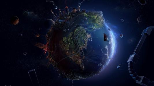 世界末日的行星