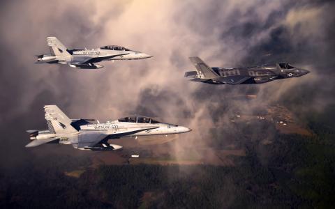 洛克希德·马丁公司的F-35闪电II