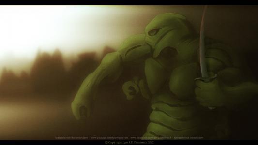 绿色忍者战斗机