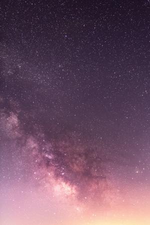 唯美灿烂的星空