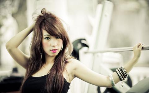 美丽的亚洲女人