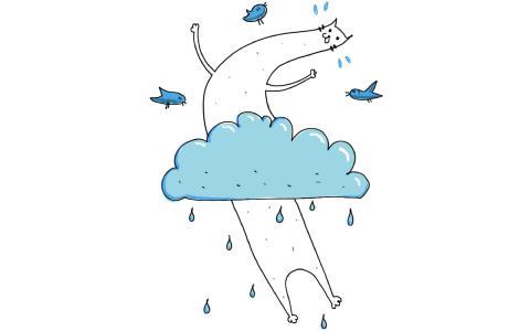 尼斯与埃德拉克的雨天