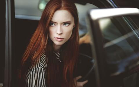 漂亮的红发