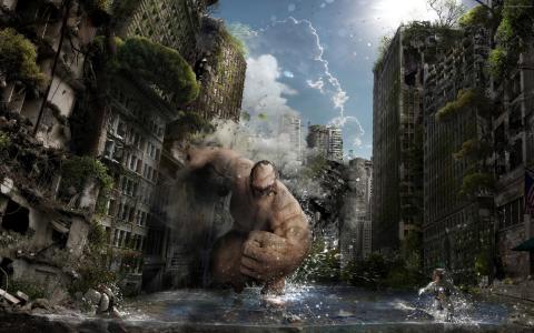 毁灭城市的生物