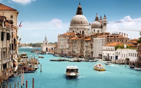 水城威尼斯的唯美风景