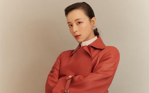 张静初时尚杂志写真