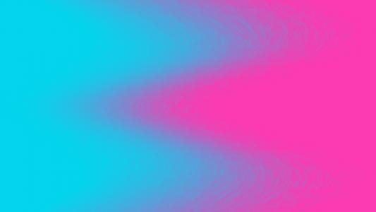 蓝色和粉红色的涟漪