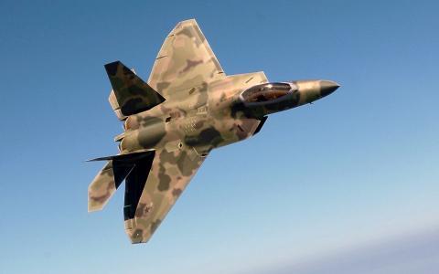 """洛克希德·马丁公司的F-22""""猛禽"""""""