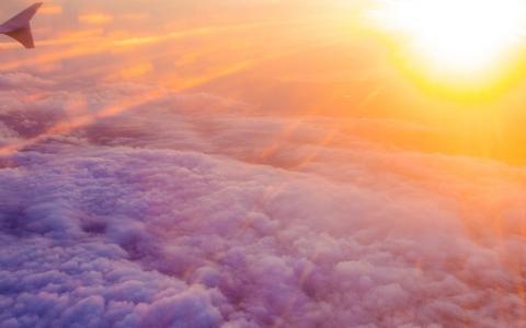 唯美风景日落风光美景