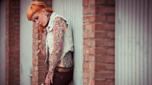 纹身的美丽