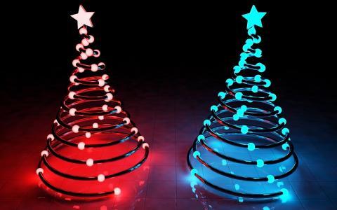 有趣的圣诞树