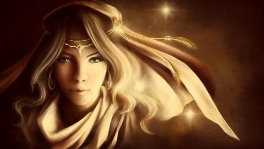 金色的公主