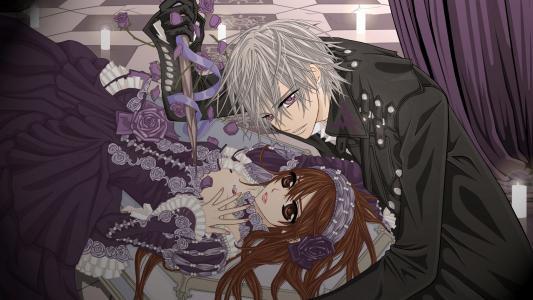 Yuki和Zero  - 吸血鬼骑士