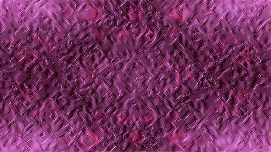 紫色石膏模式