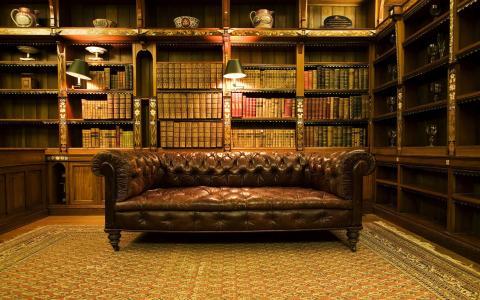 复古图书馆