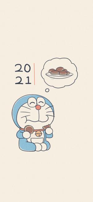 2021可爱的哆啦A梦