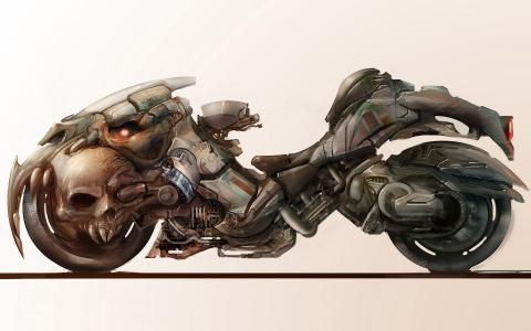 摩托车艺术