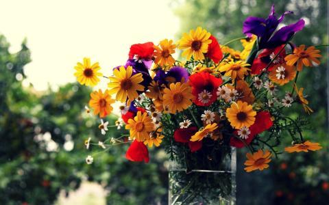 场鲜花花束