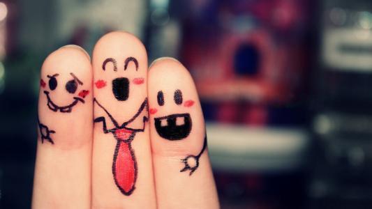 乱交的手指