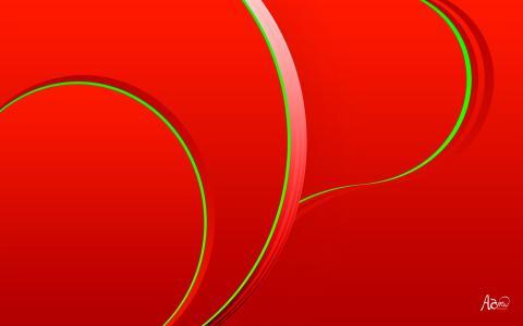 绿色的曲线