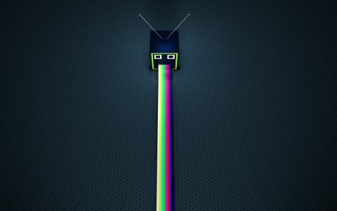 电视呕吐彩虹