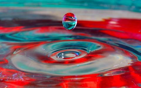 落下的水滴