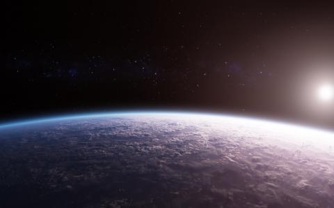 从空间观看的地球