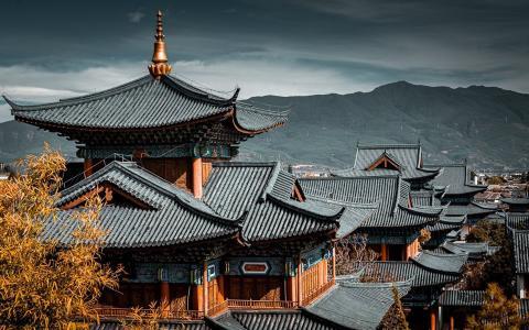 明代中原建筑丽江木府的风采