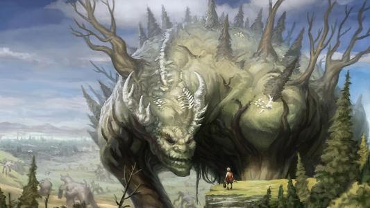 巨型森林怪物