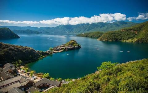 幽静唯美的泸沽湖