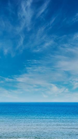 唯美壮观的碧海蓝天
