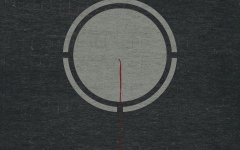 灰色的圆圈