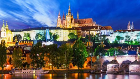 布拉格城市美景