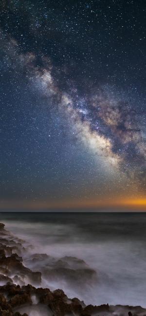 那满天星辰美景