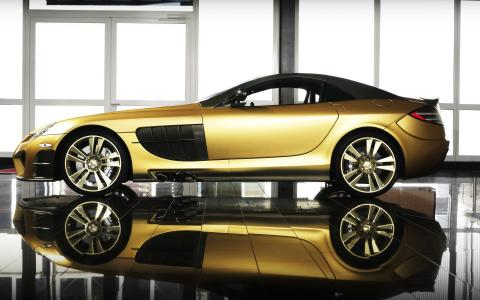 Mansory梅赛德斯 - 奔驰SLR迈凯轮Renovatio